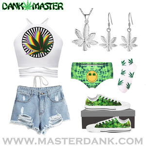 15 Lit AF Stoner Fashion Ideas - Outfits for 420 and Cannabis Lovers ( Dank Weed Clothing )