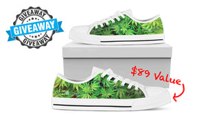 video* FREE WEED SHOES! Enter the Custom Dank Shoes Giveaway NOW