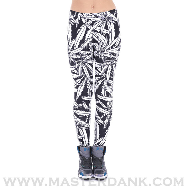 Dank Master apparel  Weed clothing, marijuana fashion and cannabis shoes for stoner men and women 420 leggings