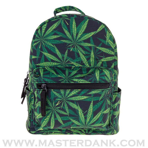 Dank Master 420 Apparel  weed clothing, marijuana fashion, cannabis shoes, and hats for stoner men and women mini backpack