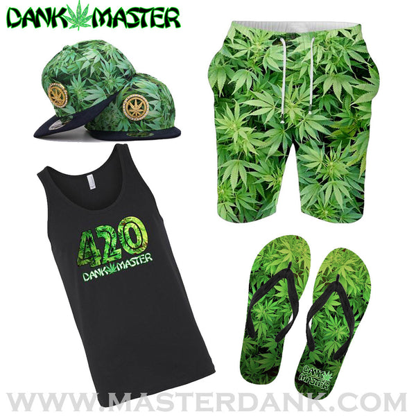 Dank Master Apparel weed clothing, marijuana fashion, cannabis shoes, and hats for stoner men and women 420 outfit