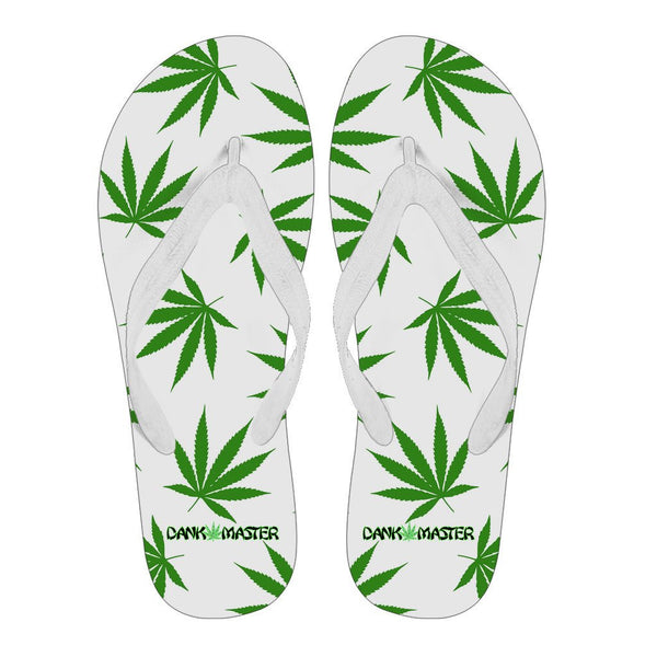 Dank Master 420 Apparel weed clothing, marijuana fashion, cannabis shoes, hoodies, pot leaf shirts and hats for stoner men and women flip flops
