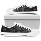 Dank Master OG Black signature Weed Low Top Canvas Shoes [2 colors] - Dank Master