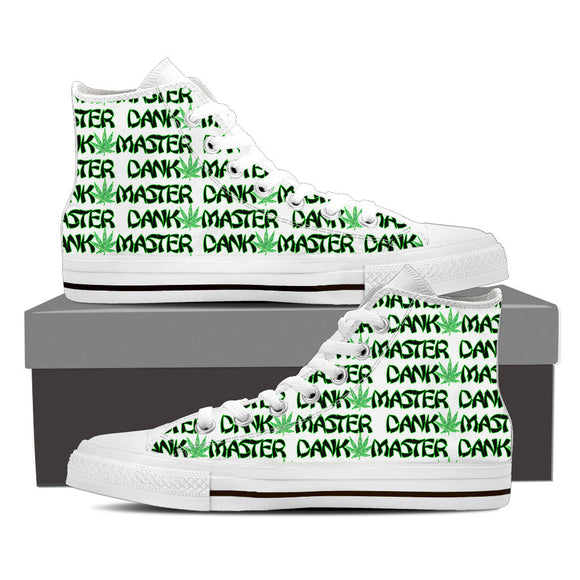 Dank Master Signature High Top Canvas Shoes