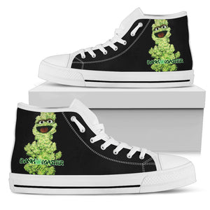 Dank Master The Nug High Top Canvas Shoes - Dank Master