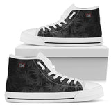Dank Master OG Black High Top Canvas Shoes - Dank Master