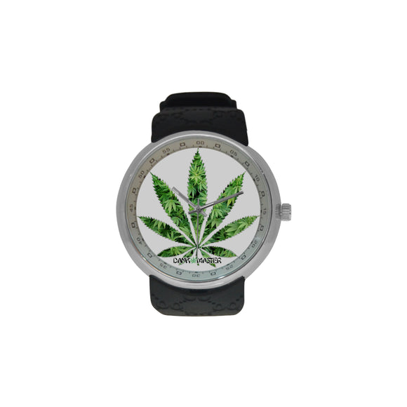 Dank Master Casual Weed Leaf Men's Watch - Dank Master