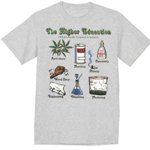 Dank Master The Higher Education T-shirt - Dank Master