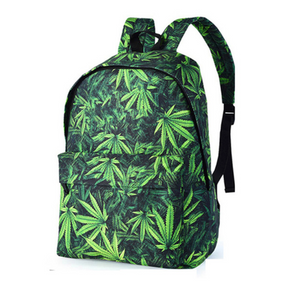 Dank Master Green Weed Leaf Backpack - Dank Master