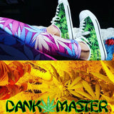 Dank Master Green Weed Low Top Canvas Shoes - Dank Master