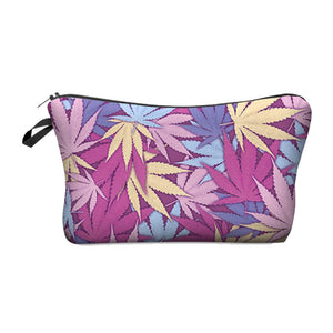 Dank Master Pink Weed Leaf Pouch - Dank Master