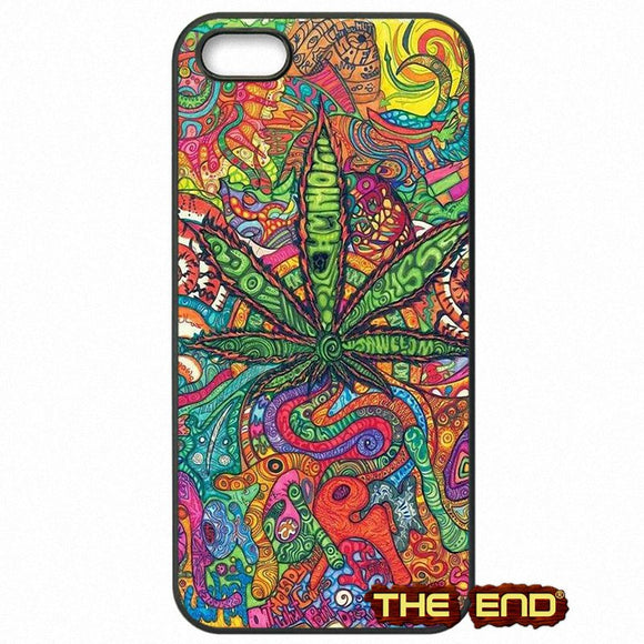 Dank Master Psychedelic Weed Leaf Phone Case for iPhone - Dank Master