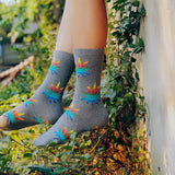 Dank Master Multi Color Weed Leaf Socks - Dank Master