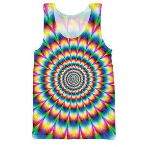 Dank Master Psychedelic Colorful Sleeveless Shirt - Dank Master