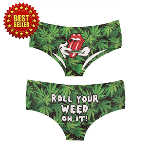 Dank Master Roll Your Weed Panties - Dank Master