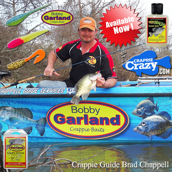 Bobby Garland Crappie Baits Now Available