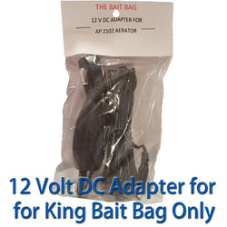 12 Volt DC Cigarette Adapter for The Bait King Aerator