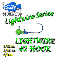 Crappie Lightwire Series Jigheads