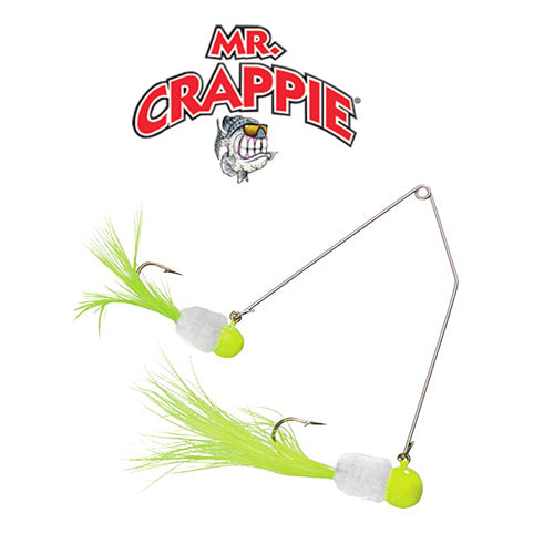 Slab daddy supper rig crappie crazy for White perch fishing rigs