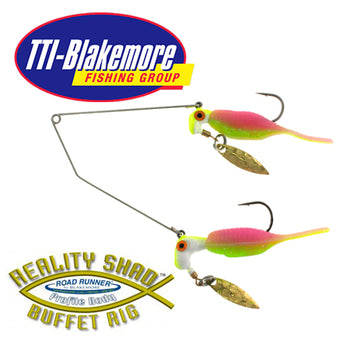 Road Runner Reality Shad Buffet Rig
