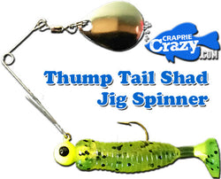Thump Tail Shad Jig Spinner