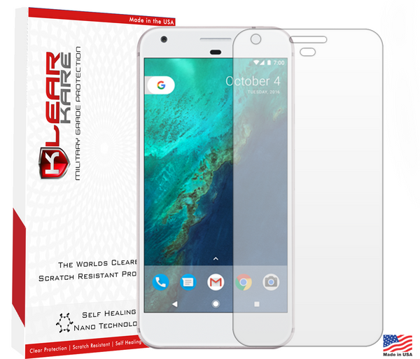 Google Pixel - KlearKare Military Grade HD Screen Protector - Lifetime Warranty - KlearKare