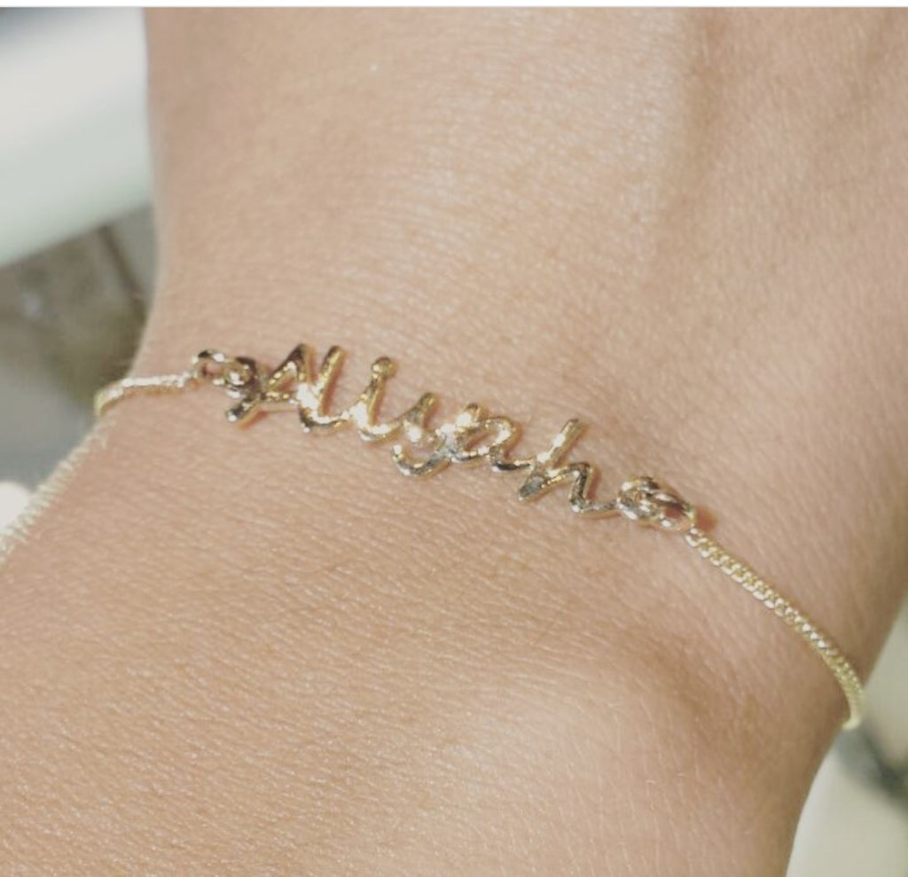 silver length sterling products bracelet ankle anklet custom name personalized