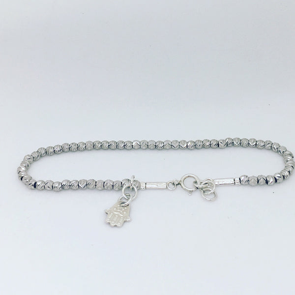 diamond cut bracelet