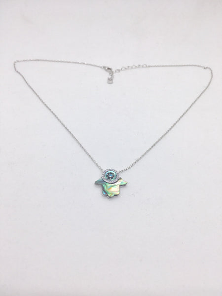 LUCKY SILVER NECKLACE