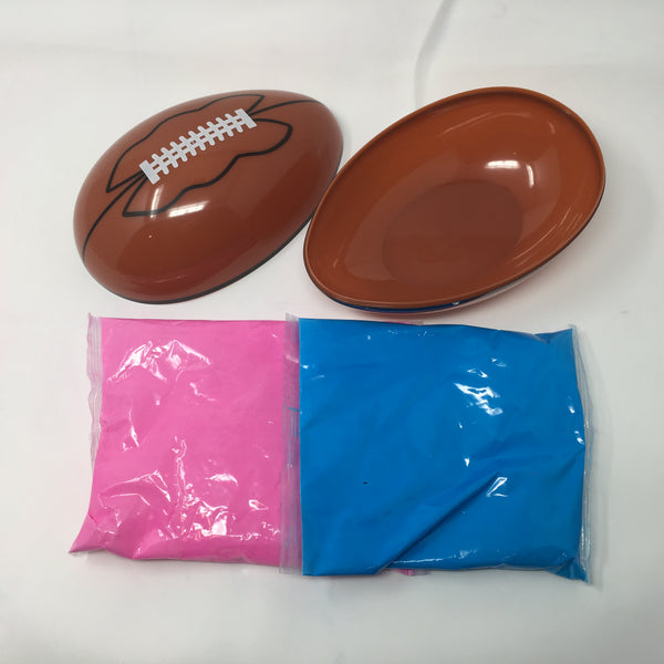 Gender Reveal Football - Pink and Blue