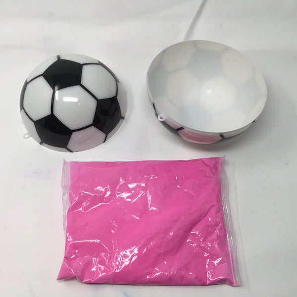 Gender Reveal Soccer Ball - Pink Kit