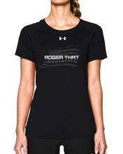 Under Armour Women's Locker T-Shirt Short Sleeve: Black