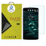 LG V10 Screen Protector, High Quality Tempered Glass Screen Protector - Guard Against Scratches and Drops - Ultra HD Clear With Maximum Touchscreen Accuracy (Crystal Clear Glass)