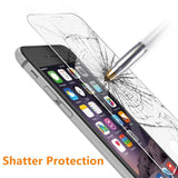 iPhone 5 5S 5SE Case, Boonix Crystal Clear TPU bumper with Tempered Glass Screen Protector [iPhone 5/5S/5SE Clear]