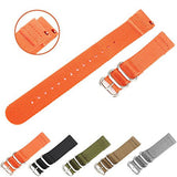 Quick-Change Ballistic Nylon Band (Orange)