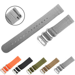 Quick-Change Ballistic Nylon Band (Gray)