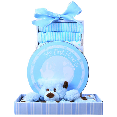 Beary Cuddly Blue