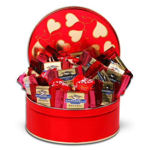Ghirardelli Tin of Valentine's Day
