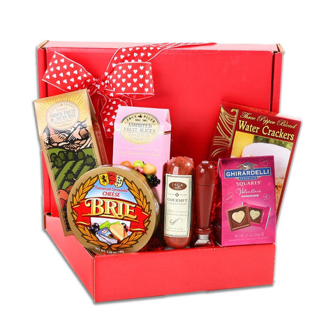 Valentine's Gourmet Meat & Cheese Box