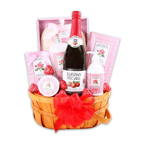 Love & Relaxation Gift Basket