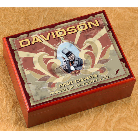 Personalized Humidor - Barron