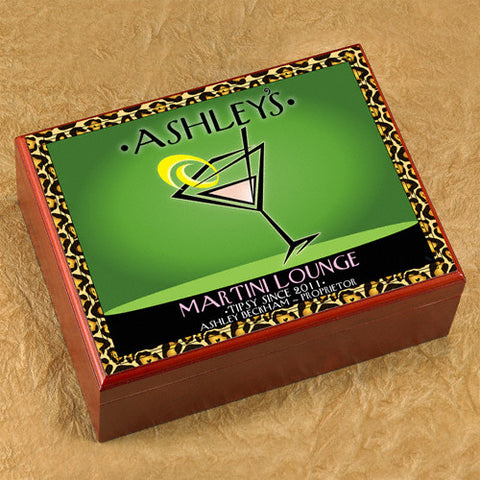 Personalized Humidor - Cosmo Chic