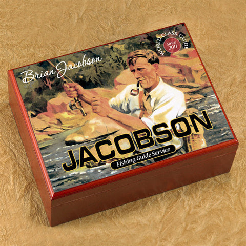 Personalized Humidor - Fisher's Guide