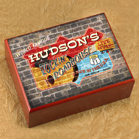 Personalized Humidor - Road House