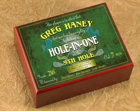 Hole In One Humidor