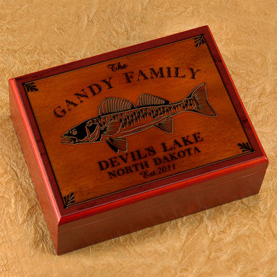 Cabin Series Humidor - Wall Eye