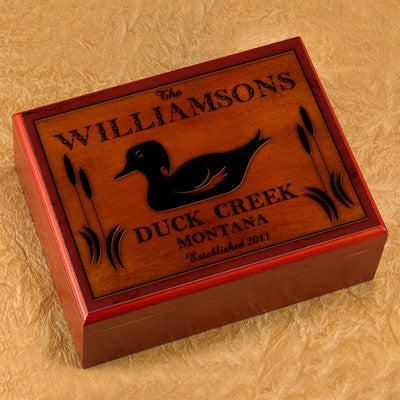 Cabin Series Humidor - Wood Duck