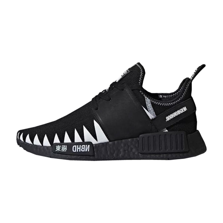 ADIDAS NMD R1 PK NEIGHBORHOOD BLACK US7.5 / EU40.5 (NEW)