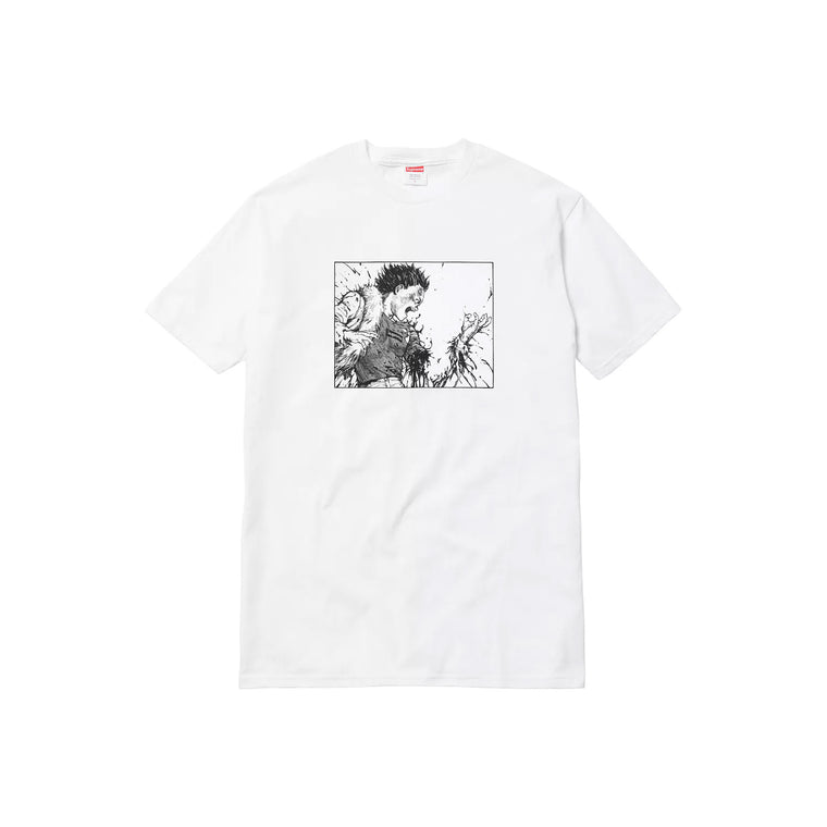 SUPREME AKRIA WHITE ARM TEE SIZE MEDIUM (NEW)