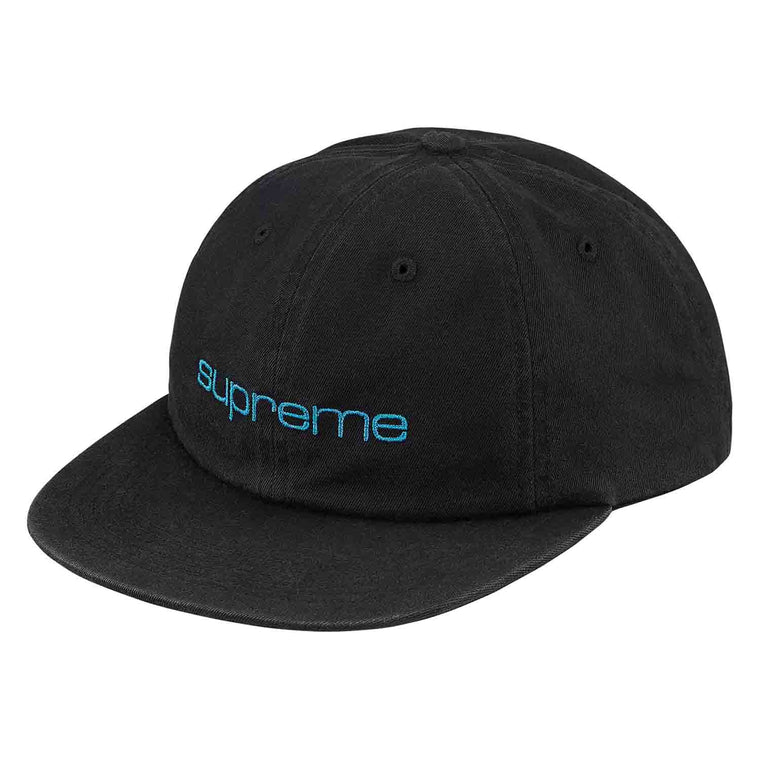 SUPREME LIME GREEN COMPACT LOGO 6PPANEL CAP (NEW)